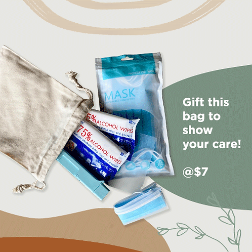 CARE Pack (with Drawstring Bag)