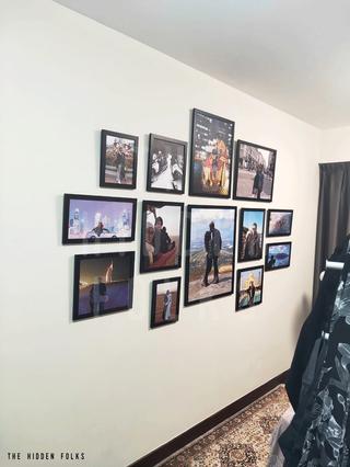 Customised frame set display