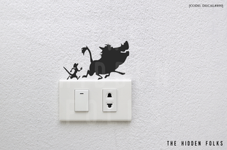 Wall Switch - DECAL#890