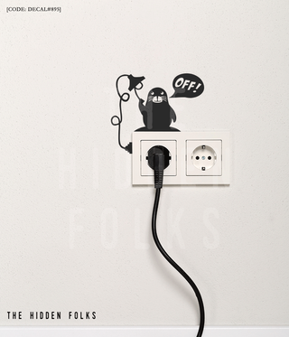Wall Switch - DECAL#895