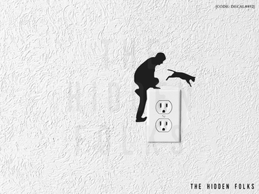 Wall Switch - DECAL#892