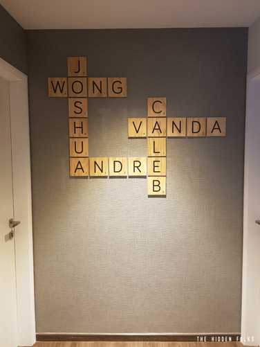 Customised word tiles