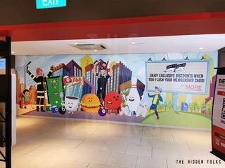 Customised Wall Mural