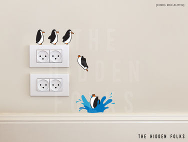 Wall Switch - DECAL#912