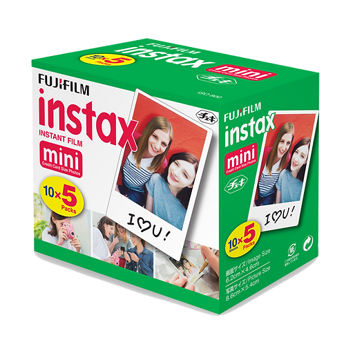 Instax Mini Film 50 Pack