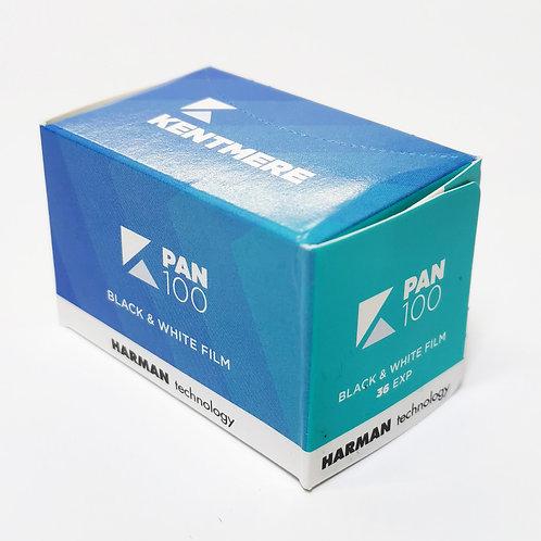 Kentmere Pan 100 , Film & Processing Bundle
