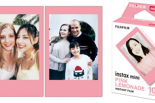 Instax Mini Pink Lemonade Film 10 Pack