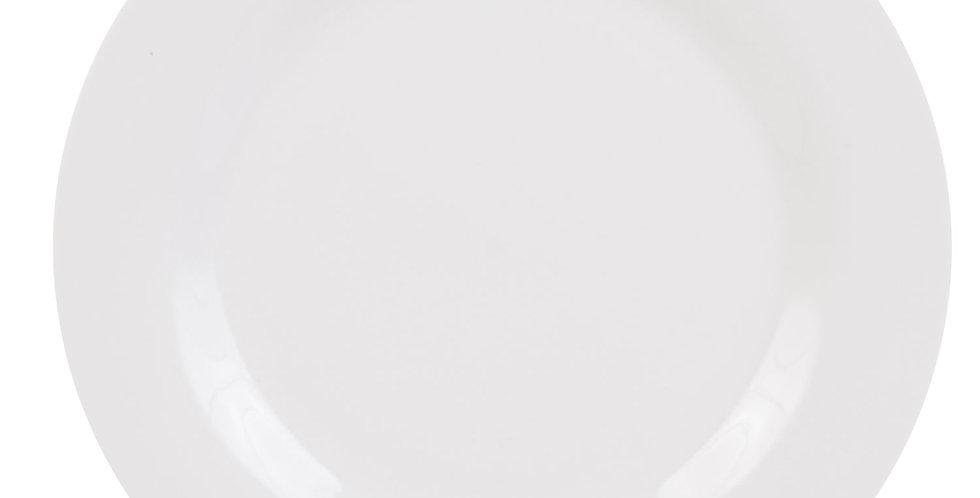 White Dinner Plate 10.5 in.