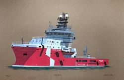 Supply Vessel Ocean Falcon