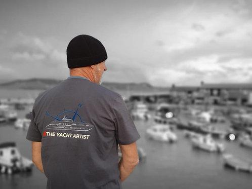 """""""The Yacht Artist"""" T-shirt"""