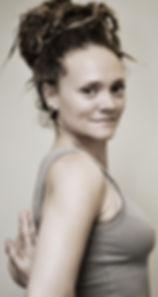 Yoga Espiral Reverse Namaste Pose