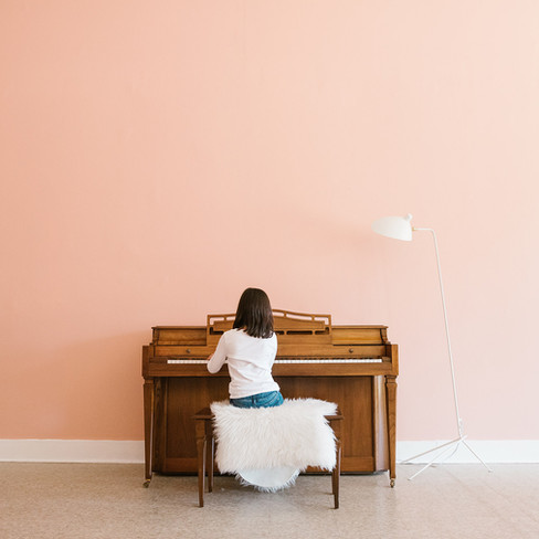 Soft Pink with Warm Wood for Red Cloud Studio | Kuchar
