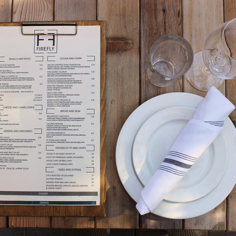 Outdoor Dining Styling for Firefly Kitchen | Kuchar
