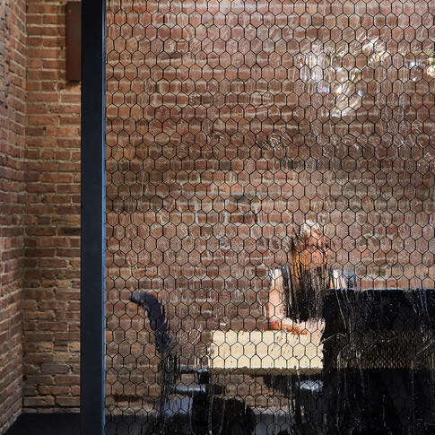 Exposed Brick and Glass Conference Room in Confidential Chicago Financial Firm | Kuchar
