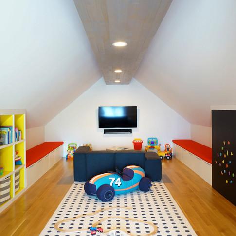 Modern Luxury Pilsen Residence Play Room   Kuchar