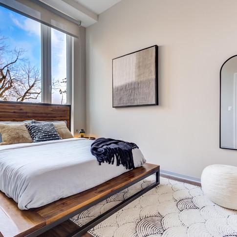 Luxury Model Unit Staging Bedroom | Kuchar