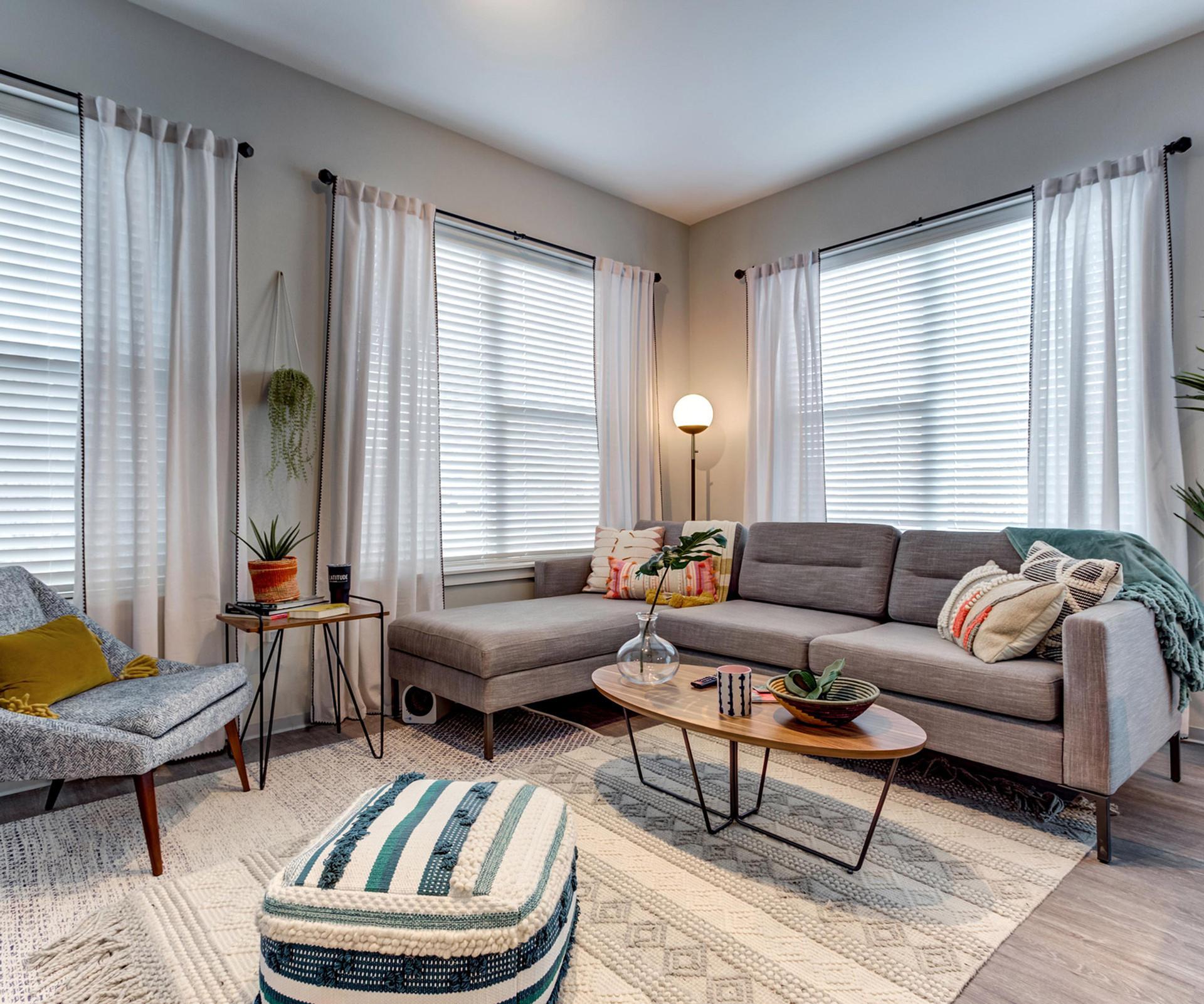 Model Unit Living Room | Kuchar