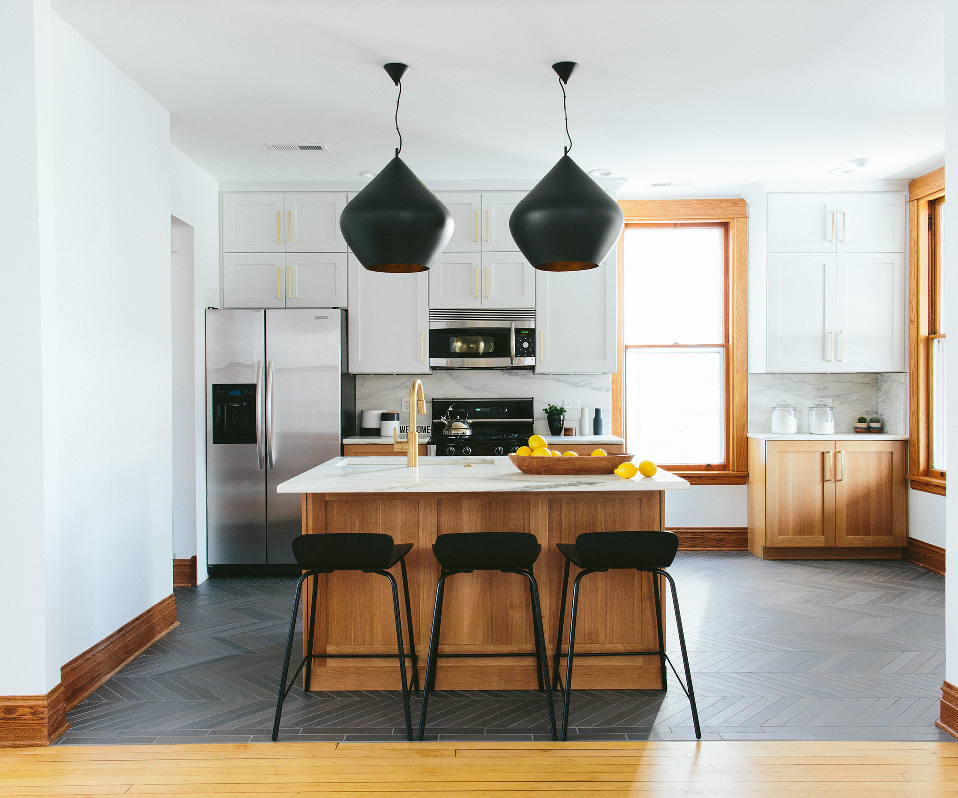 Modern Vintage Residential Kitchen | Kuchar