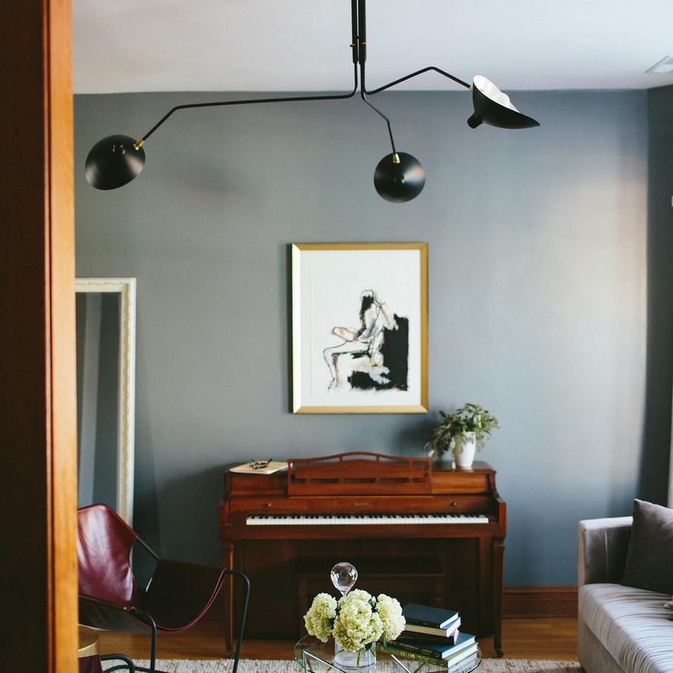 Modern Vintage Residential Living Room | Kuchar