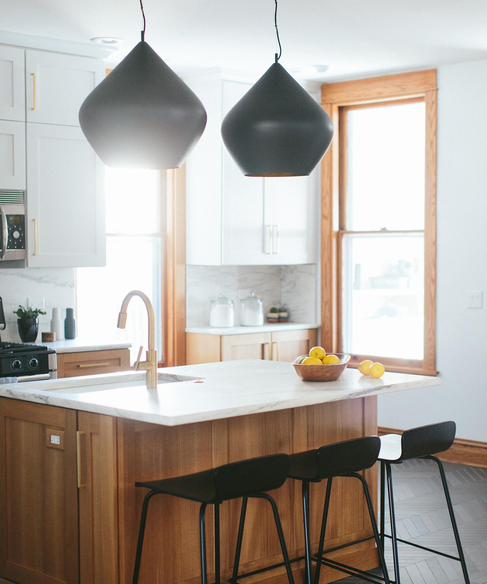 Modern Vintage Residential Kitchen Lighting | Kuchar