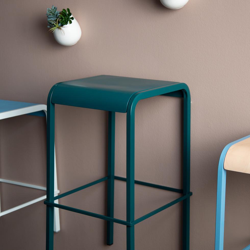 Wall-Mount Furniture Display for Source International Seating | Kuchar