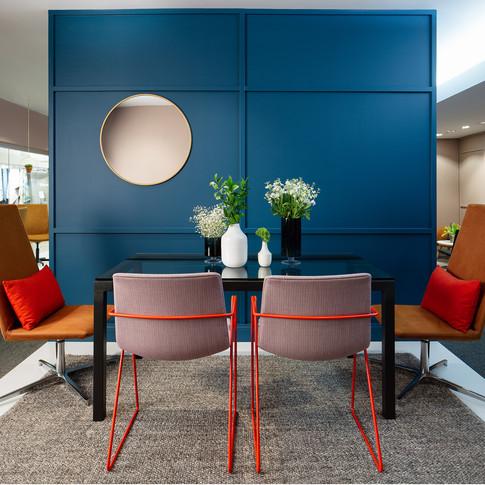 Fun, Colorful Furniture Display for Source International Seating | Kuchar