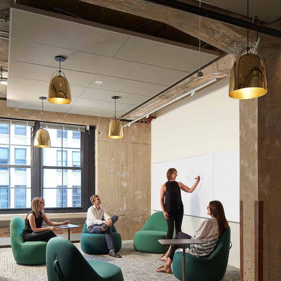 Warm Industrial Breakout Room for Confidential Chicago Financial Firm | Kuchar