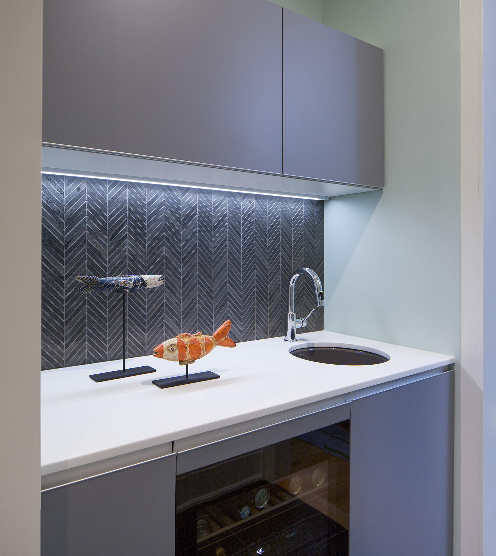 Lakeview Residence Wet Bar | Kuchar