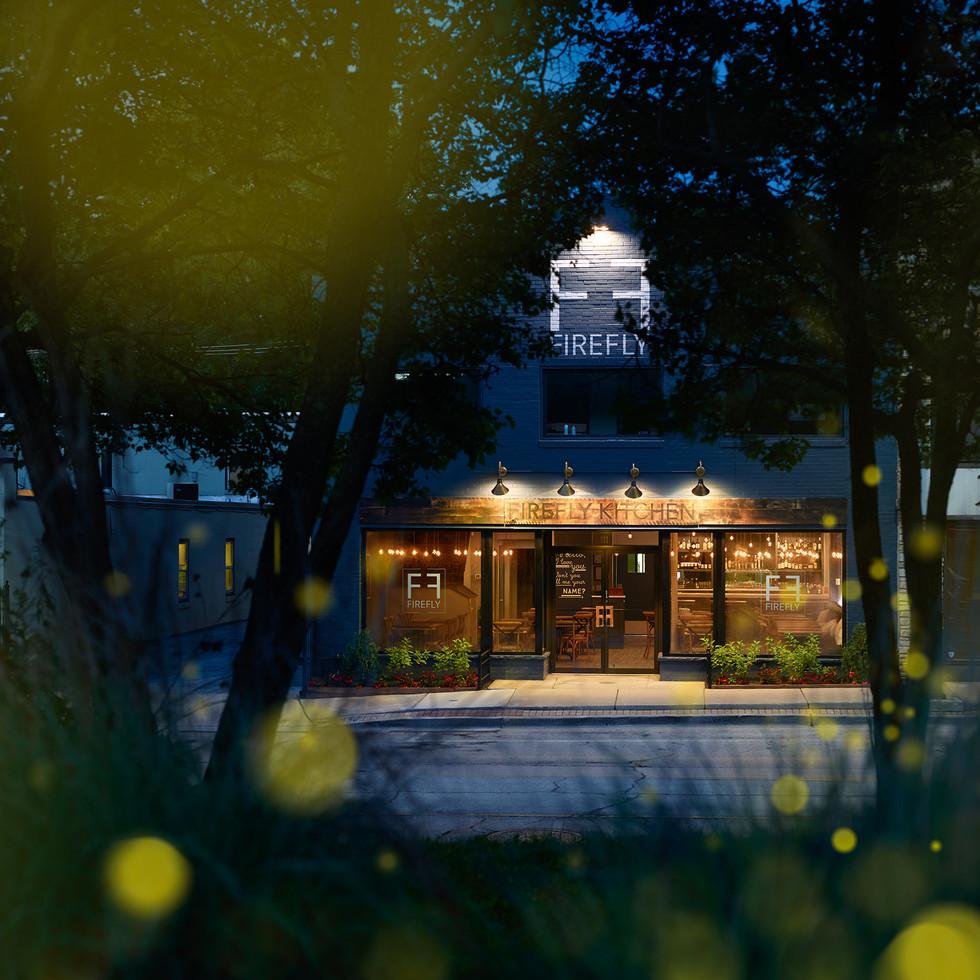 Bright Exterior for Firefly Kitchen | Kuchar