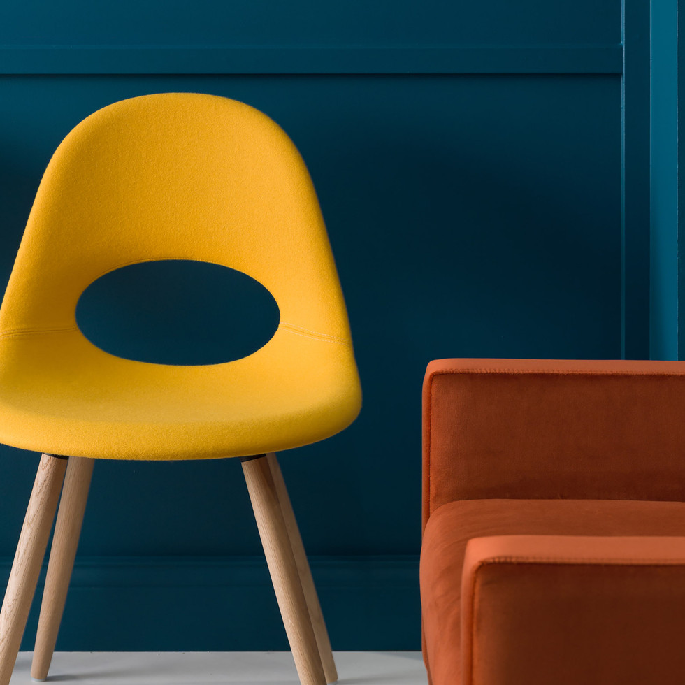 Bright, Colorful Furniture for Source International Showroom | Kuchar