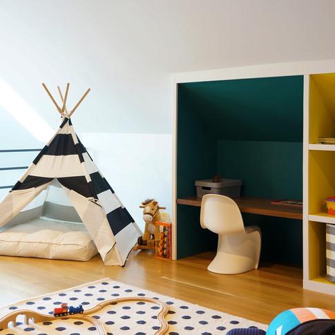 Modern Luxury Pilsen Residence Play Room by Kuchar Studio