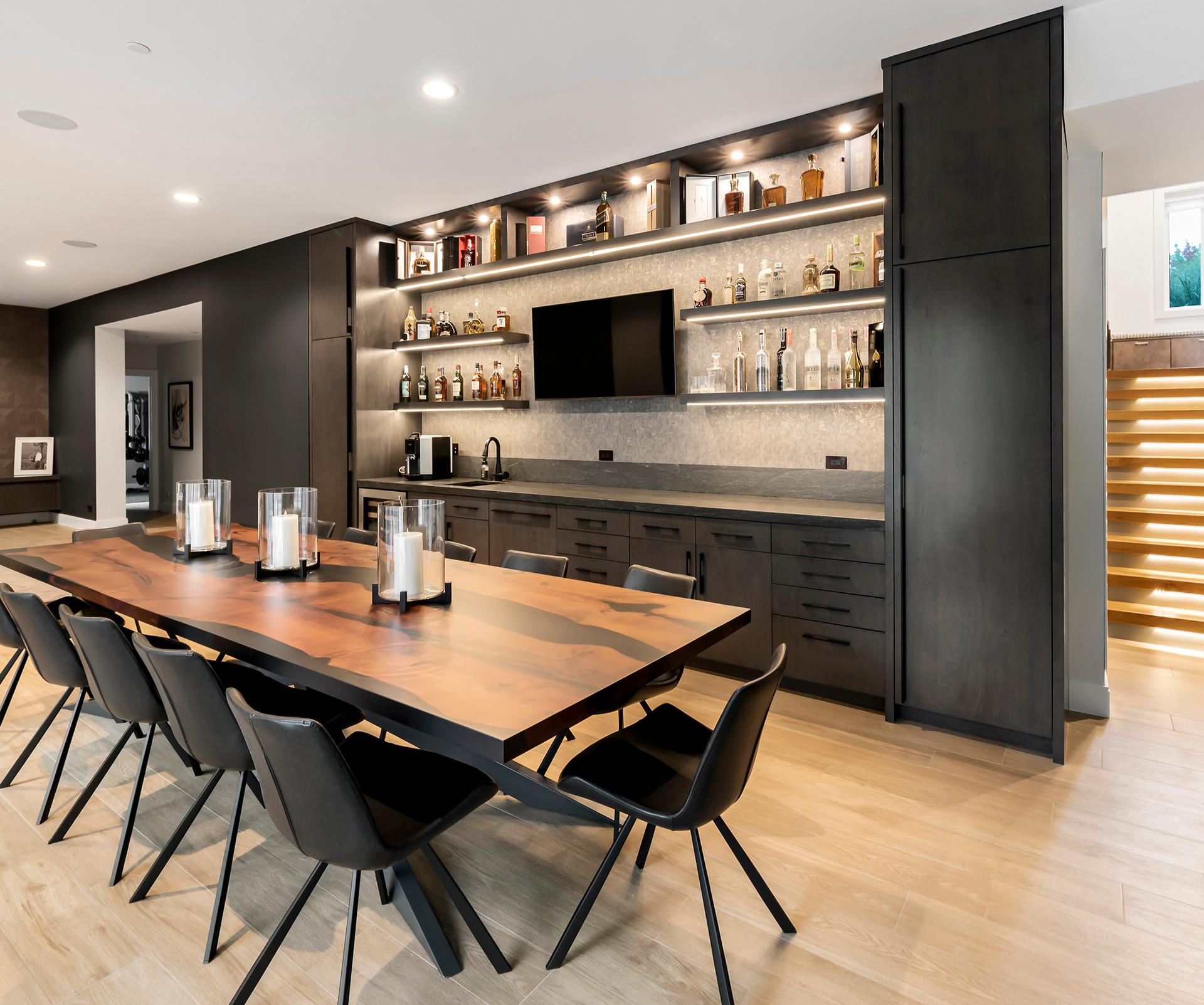Luxury Long Grove Residential Dining Room | Kuchar