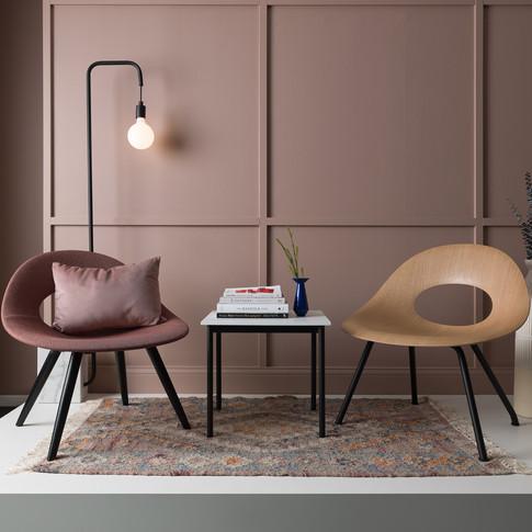 Soft, Warm Mauve Palette for Source International Seating   Kuchar