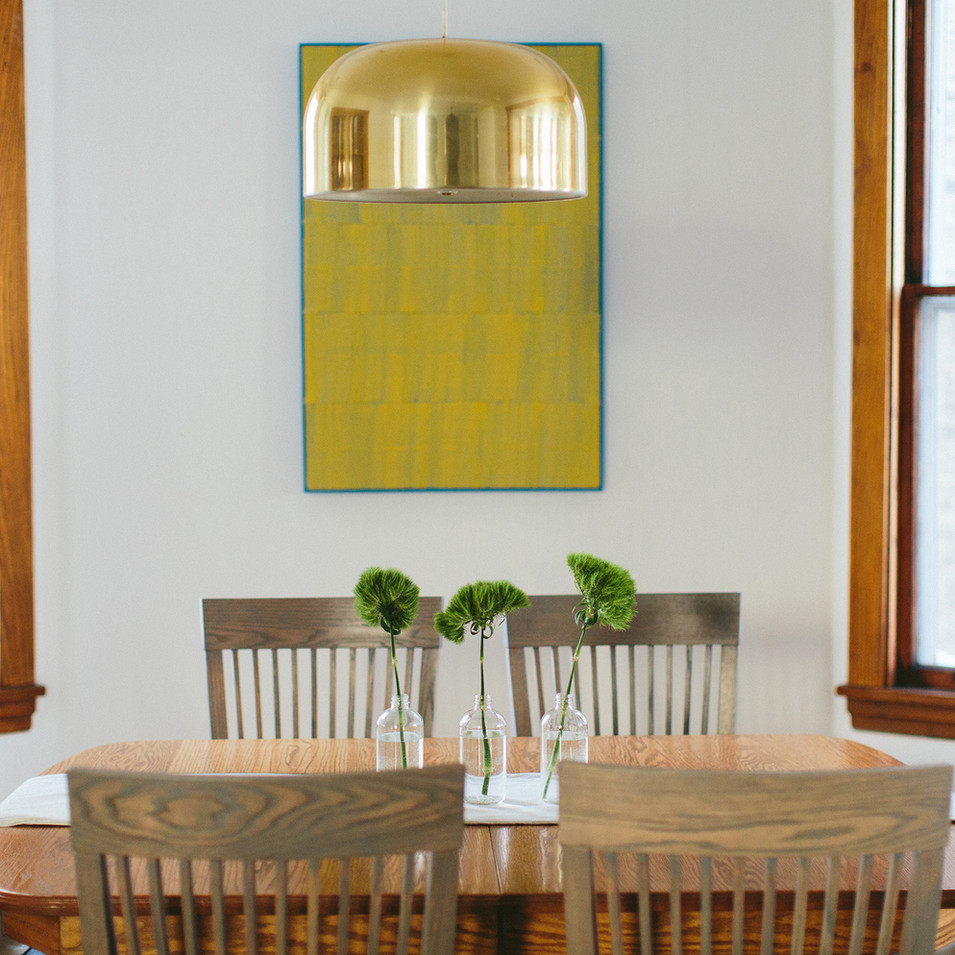 Modern Vintage Residential Dining Room | Kuchar