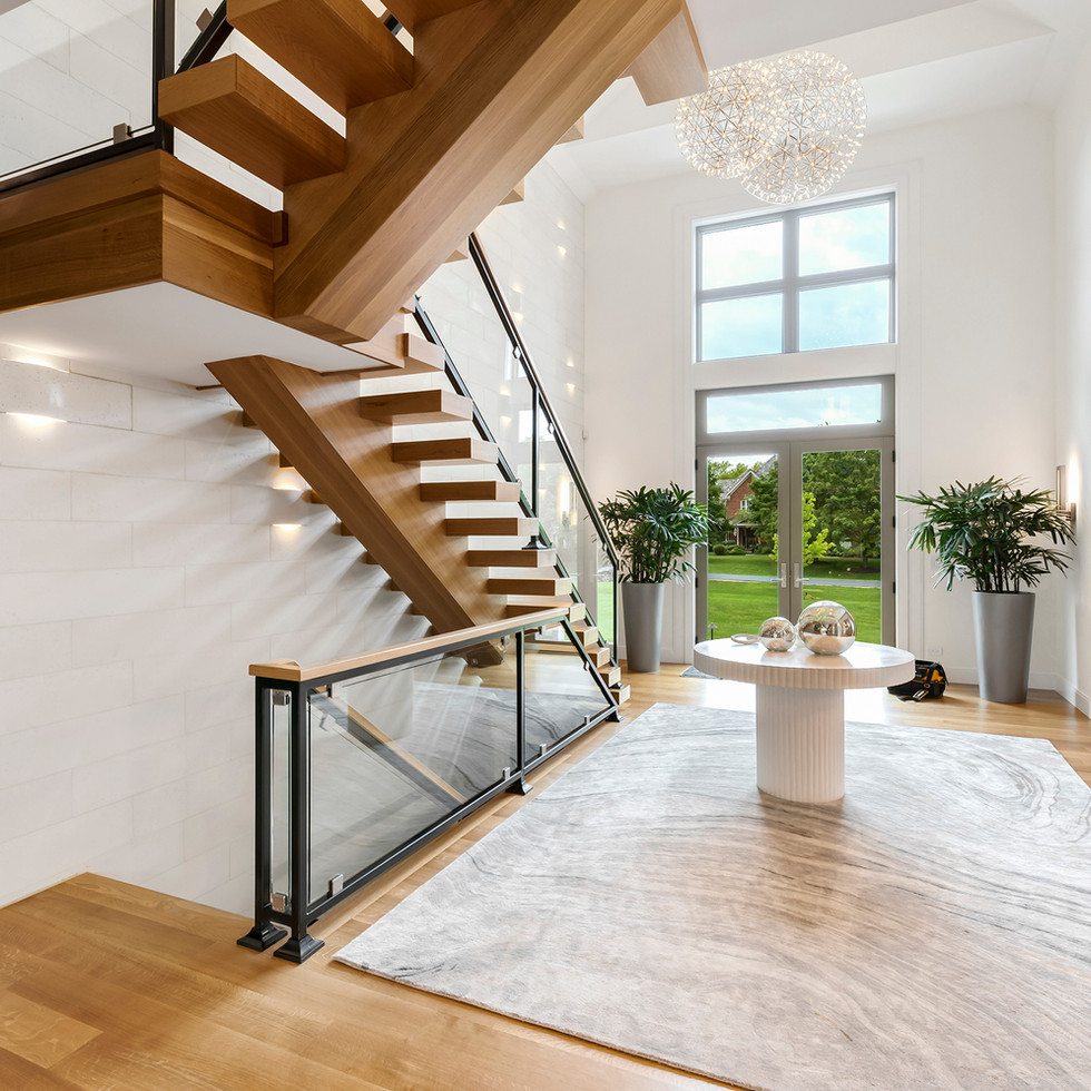 Luxury Long Grove Residential Entryway | Kuchar