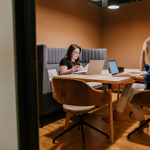 Warm, Soft Conference Room for Studio Hub | Kuchar