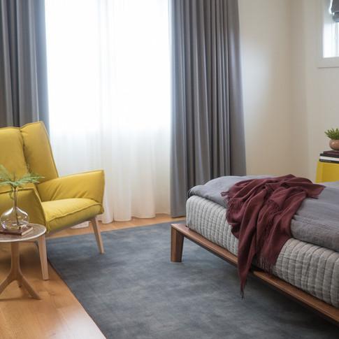 Lakeview Residence Master Bedroom | Kuchar