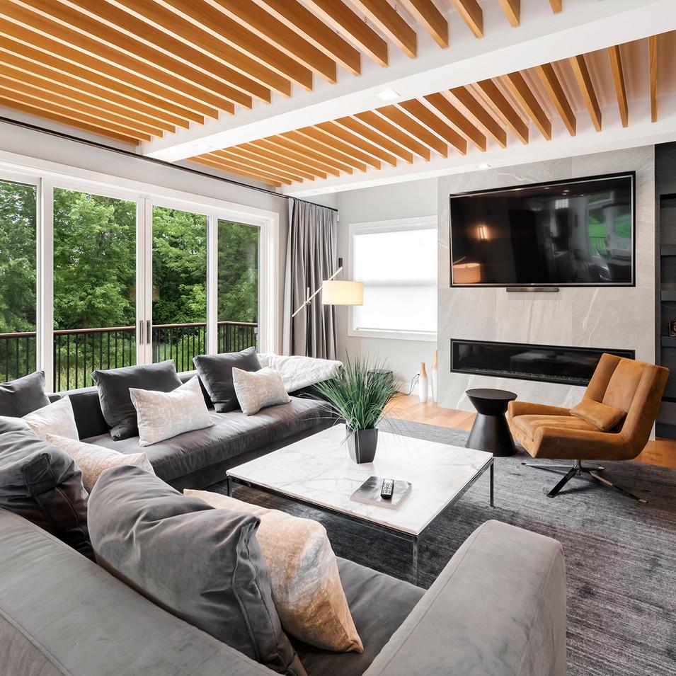 Luxury Long Grove Residential Living Room | Kuchar