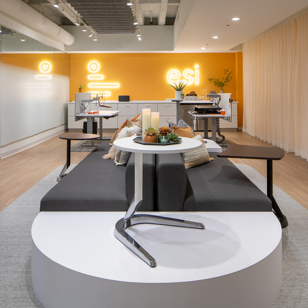 Neon Accents for ESI Ergonomic Products | Kuchar