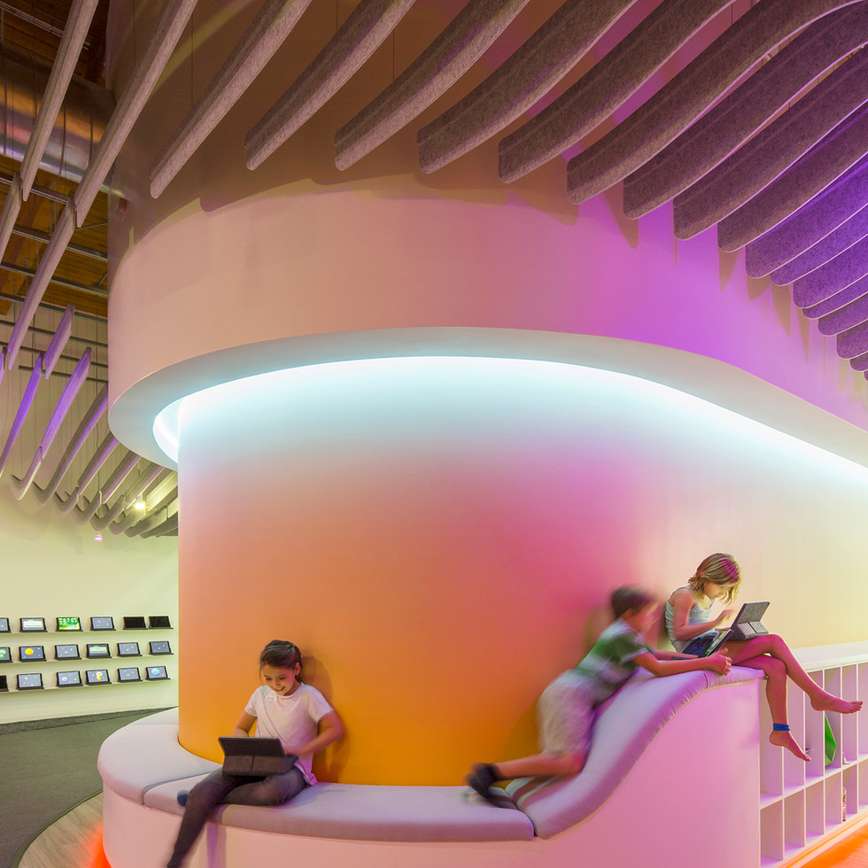 Neon Light and Acoustic Baffles for Codeverse | Kuchar