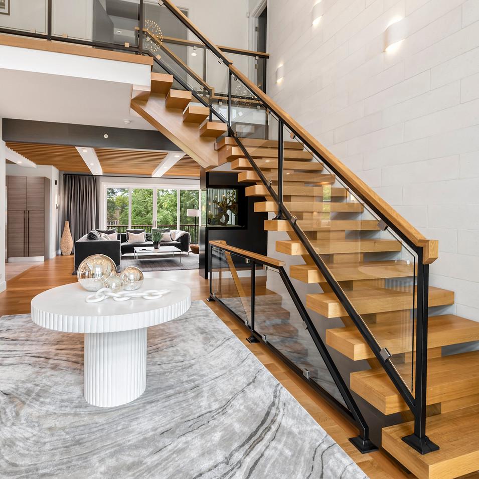 Luxury Long Grove Residential Entry | Kuchar