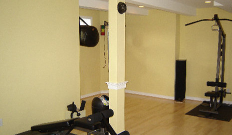 Basement Renovation-gym