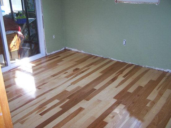 Birch Floor Install
