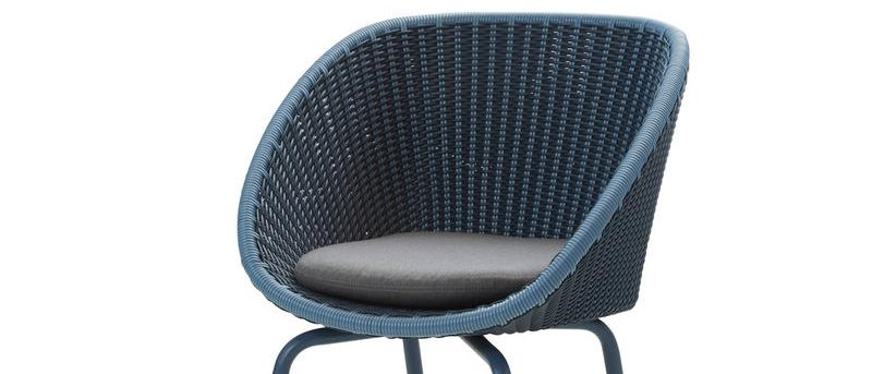 Peacock dining chair, Weave