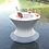 Thumbnail: 22-Inch Side Table with lid and hole