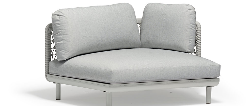 Club Left-Arm Curve Chair