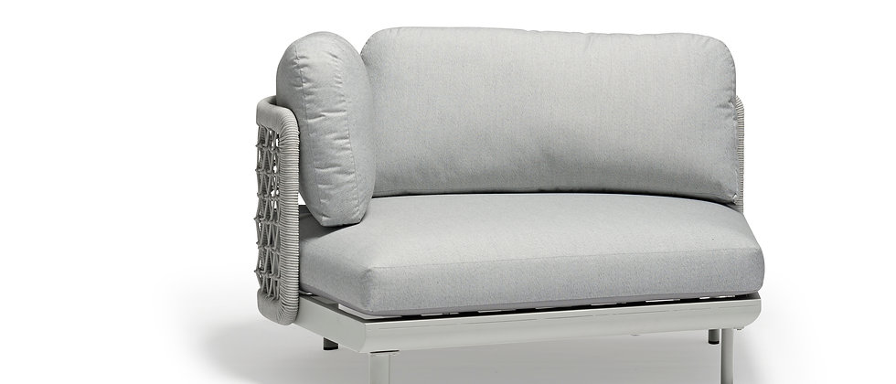 Club Right-Arm Curve Chair