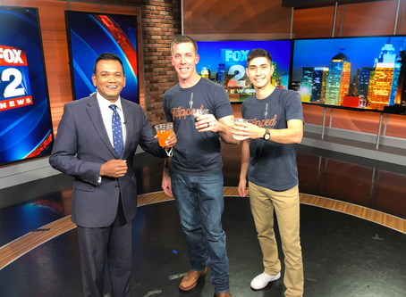 Tapped featured on Fox 2 news Detroit!