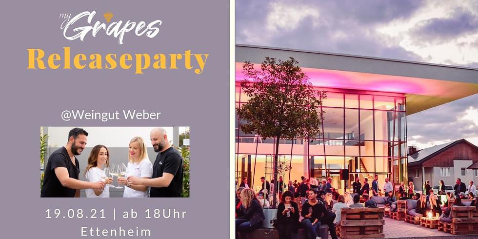 myGrapes RELEASEPARTY @Weingut Weber
