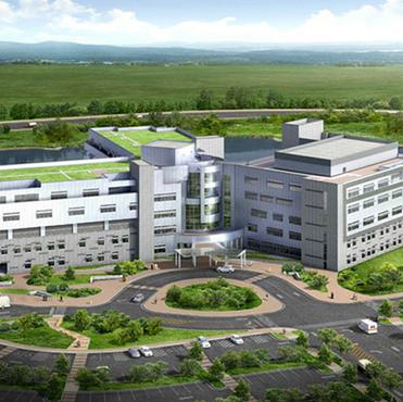 YRP 병원 및 중앙기계실
